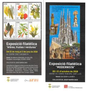 Exposciones Filatelicas