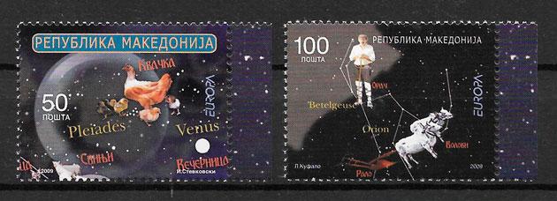 sellos Europa Macedonia 2009